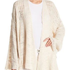 Free People In My Element Kimono Ivory Sweater.XS